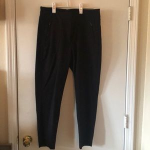 Black Stretch Ankle Pant